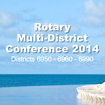 Rotary Multi-District Conference 2014 In the Bahamas