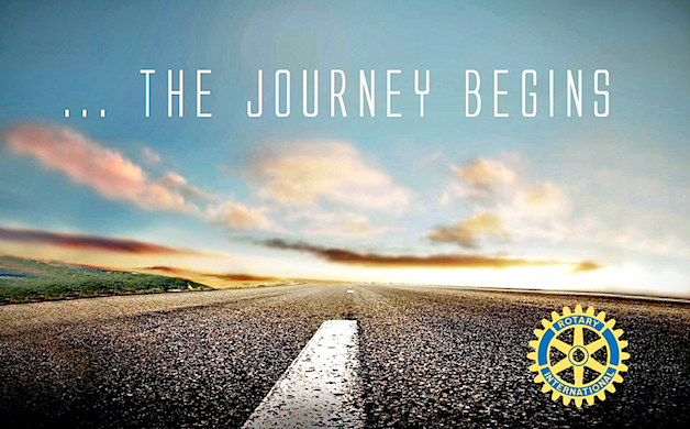 The Journey Begins - Governor Edward Jognston - Rotary District 6950