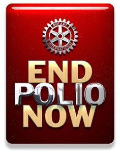 End Polio Now PDG Edward Johnston District 6950